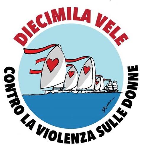 """""""Diecimila vele"""" contro la violenza sulle donne"""